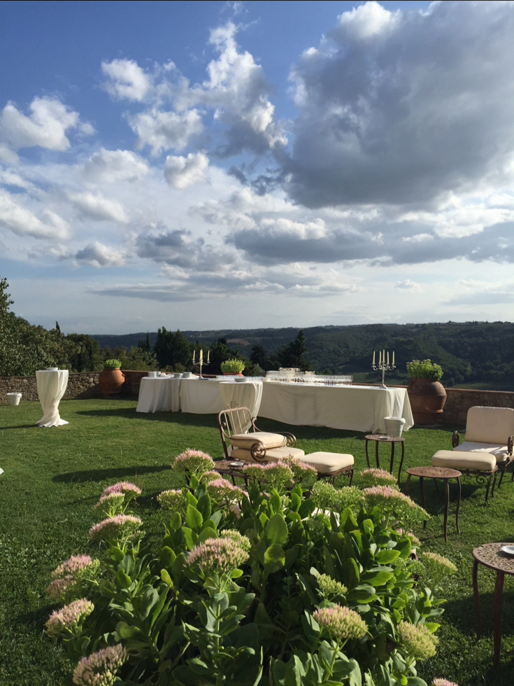 A Castle in Tuscany - Italy Destination Weddings
