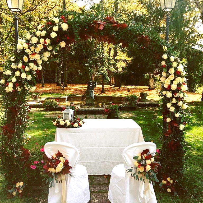 ITALIAN GARDENS IN TUSCANY - ITALY DESTINATION WEDDINGS
